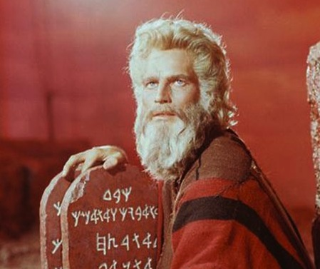 Moses in corporeal form.