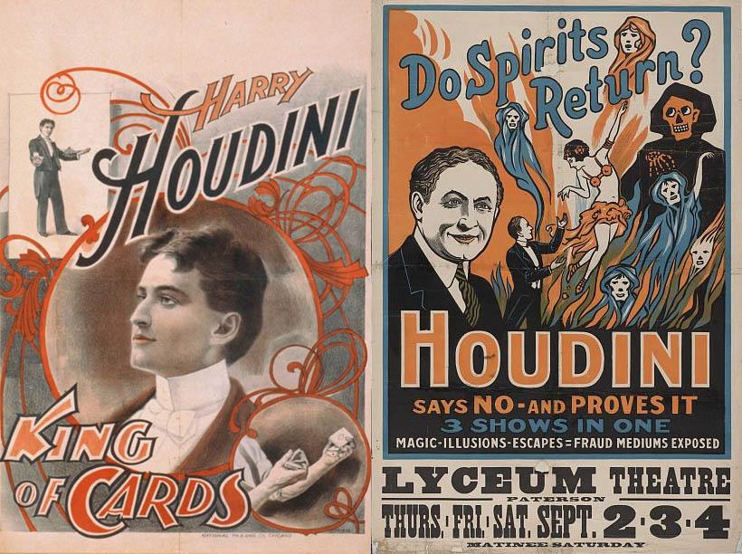 Houdini's Secret Diaries