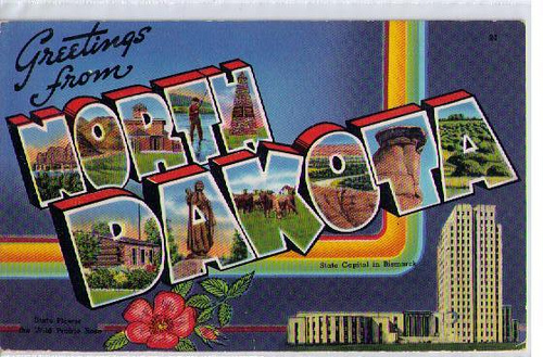 North Dakota -- A place I have never been