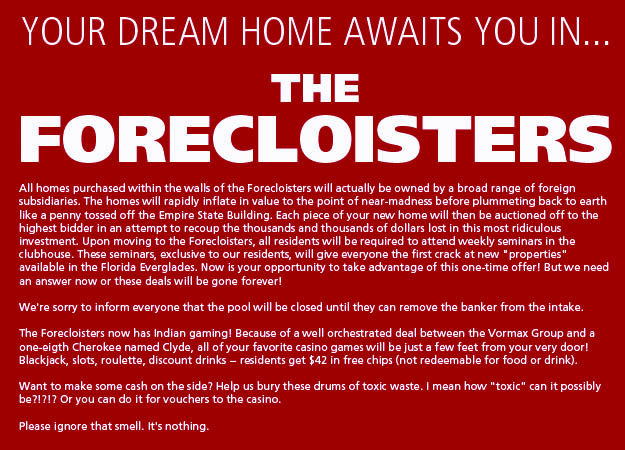 Your Dream Home Awaits You In THE FORECLOISTERS