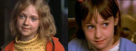 Dakota Fanning (L), Maura Wilmot (?) (R)