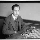 Blake Manley, seen here engaged in a chess match with a Bengal tiger (not pictured).