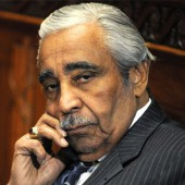 "Having been censured, Rep. Charles Rangel must now wear a ""Parental Advisory"" lapel pin when conducting official Congressional business."