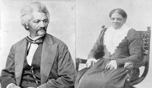 "Frederick ""F-Dougs"" Douglass (L), Harriet ""H-Tubs"" Tubman (R)"