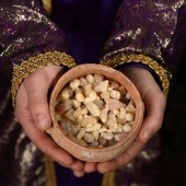 Frankincense. Or possibly myrrh. Almost definitely not gold, though.