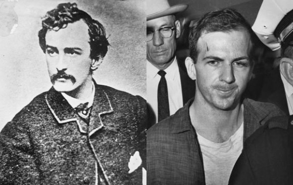 Did you know John Wilkes Booth (L) invented booth seating, while Lee Harvey Oswald (R) created the Harvey Wallbanger cocktail?