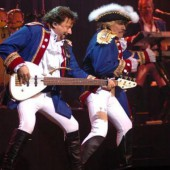 Paul Revere & The Raiders, seen here valiantly staving off another British invasion.