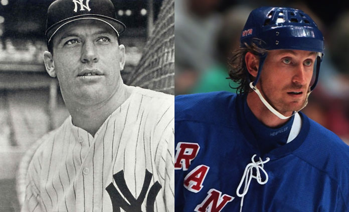A Conversation Between Mickey Mantle and Wayne Gretzky – Two