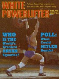 White Powerlifter